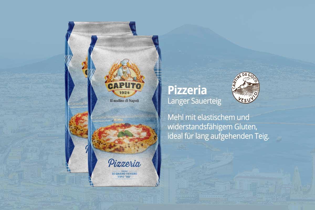 Caputo Mehl Premium - Blu Pizzeria
